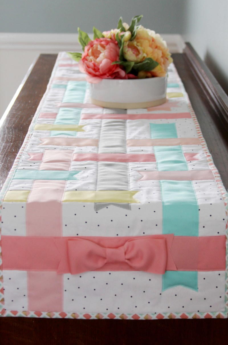 Spring Time Table Runner Allfreesewing Com