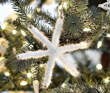 Twinkling Twig Snowflake Ornament