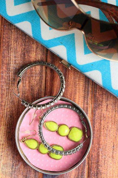 Mason Jar Jewelry Dish