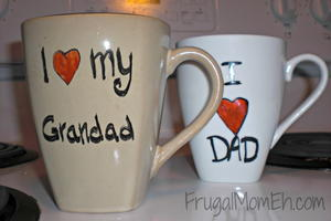 I-Heart-Dad Father's Day Mug