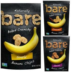 Bare Snacks Banana Chips
