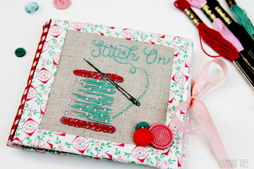 Stitch On! Embroidered Needle Book