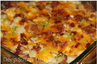 Mom's Best Cheesy Bacon Potato Casserole