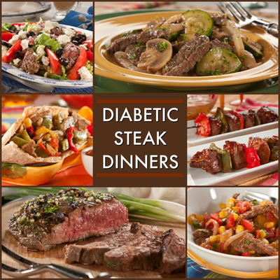 Our Collection Of Recipes For A Diabetic Steak Dinner Will Knock Your Socks  Off! Sure, Weu0027ve Included The Classic Dishes Like Grilled Flank Steak, ...
