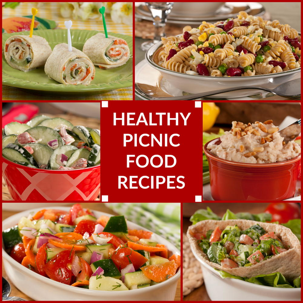 Healthy picnic food recipes for Cuisine healthy