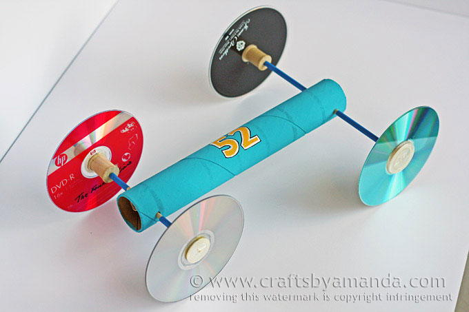 Rubber Band Toy Car Allfreekidscrafts Com