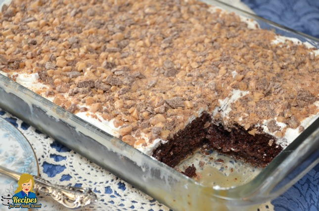 Heath Bar Cookies Using Cake Mix