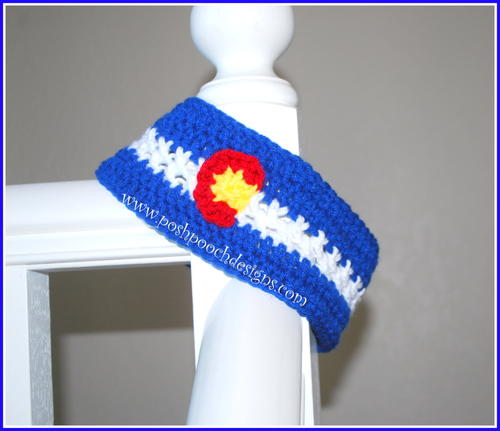 Colorful Colorado Headband