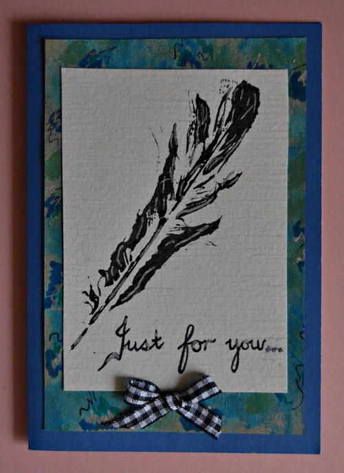 Just for You DIY Card