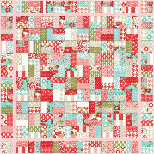 Sugar Sweet Jelly Roll Quilt