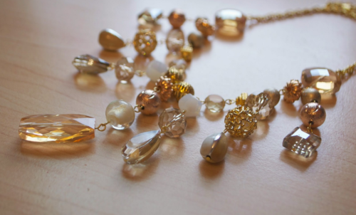Golden Sunrise DIY Necklace