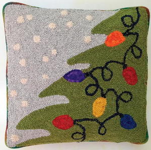 Exclusive Pattern: Holiday Lights Pillow