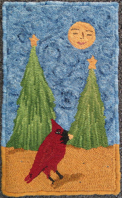 Christmas Rug Hooking Patterns Rughookingmagazine Com