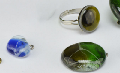 Unique DIY Glass Jewelry