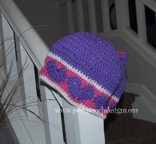Happy Hearts Beanie and Slouchy