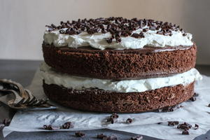Nutella Chocolate Layer Cake