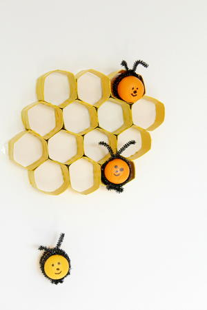 Honeycomb Toilet Paper Roll Crafts