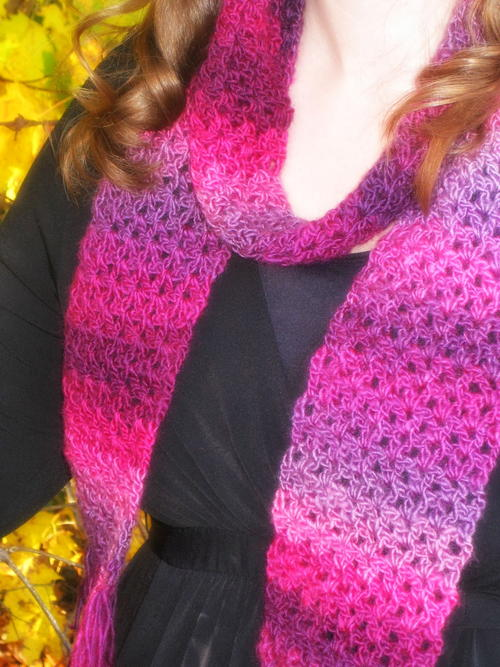 Unforgettable One Skein Scarf