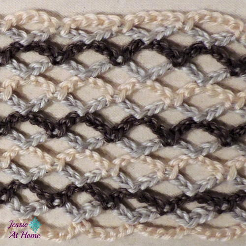 Nettie's Super Simple Stitch in Rows Video Tutorial