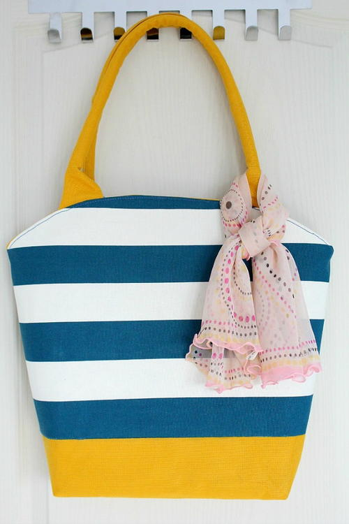 Rounded Top DIY Tote Bag