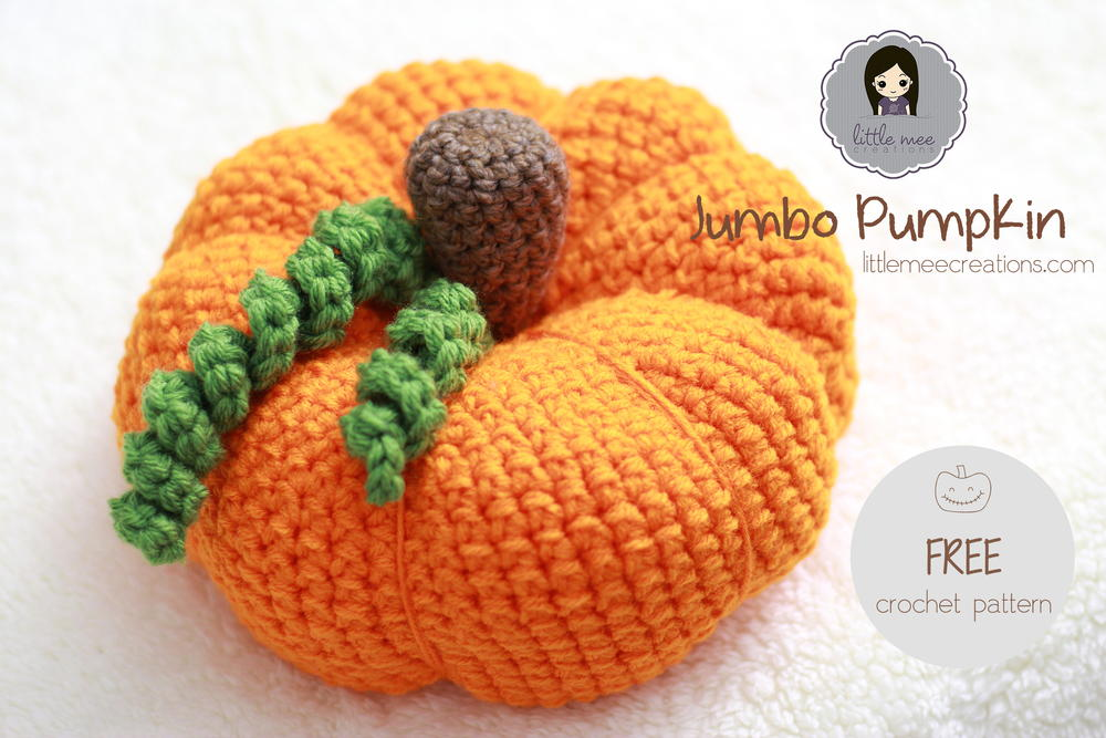 Jumbo Pumpkin Crochet Pattern FaveCrafts.com