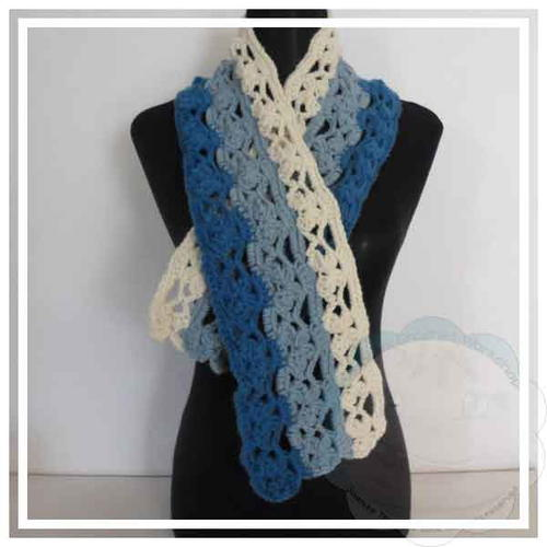 Chunky Butterfly Scarf