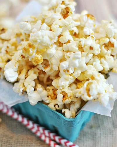 Vintage Homemade Kettle Corn