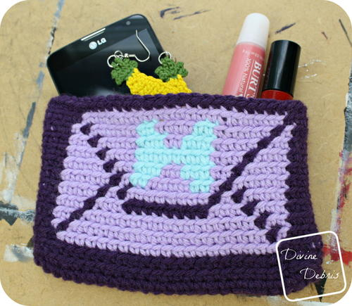 Envelope Clutch Crochet Pattern_2