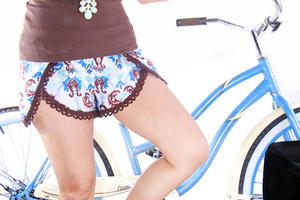 Pinwheel DIY Shorts Pattern