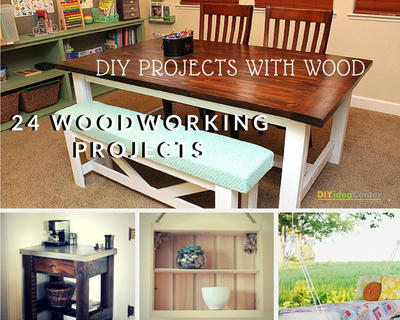 DIY Projects with Wood 24 Wonderful Woodworking Projects
