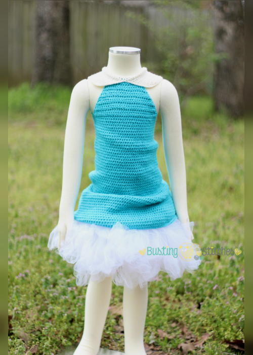 Dainty Fairy Crochet Dress