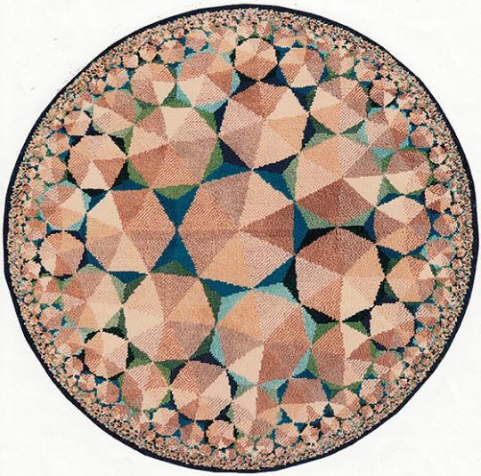 Tony Bomfords Marvelous Mathematical Rugs