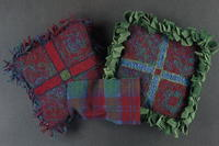 The Pretty Plaid Proddy Pull Pillow