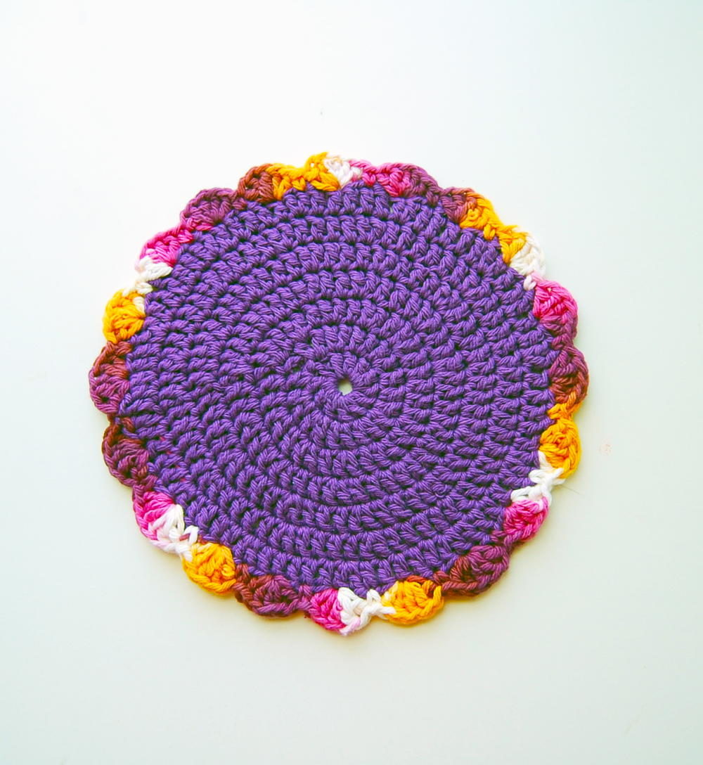 Pics Photos - Crochet Floral Dishcloth Patterns Dishcloth ...