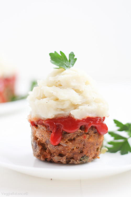 Gluten Free Easy Meatloaf Muffins