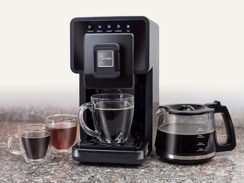 Capresso Grind And Brew Coffee Maker Reviews : Capresso Triple Brew Coffee and Tea Maker AllFreeDIYWeddings.com