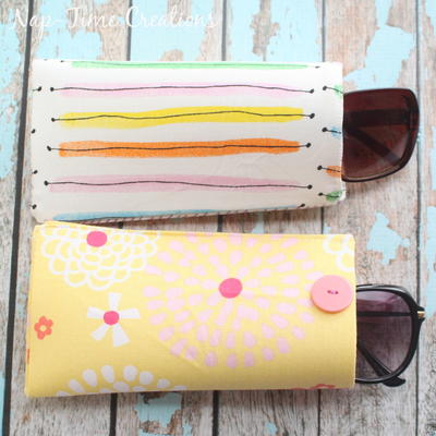 Easy Sew Summer Sunglasses Case