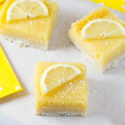 Lemon Pie Bar