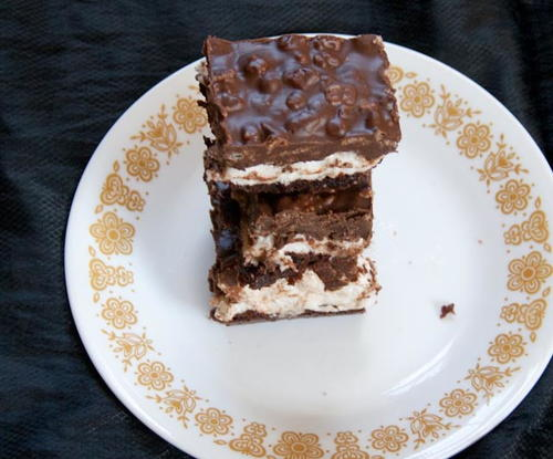 Brownie Magic Mallow Bars