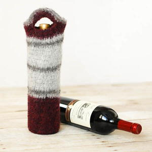 Felted Wine Tote
