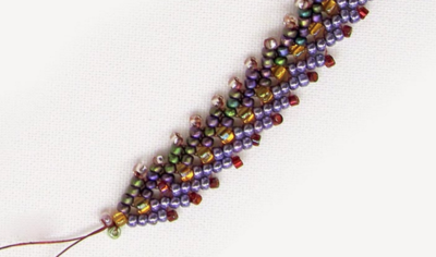 How to Bead the Double St Petersburg Chain