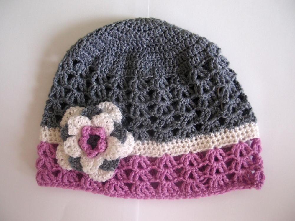 Crochet Hat Patterns For Winter : Sense Of Spring AllFreeCrochet.com