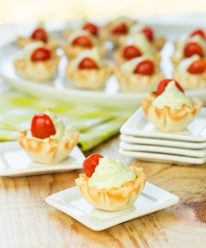 Summer appetizer pesto bites for Summer canape ideas