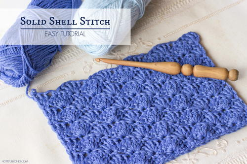 How To: Crochet The Solid Shell Stitch