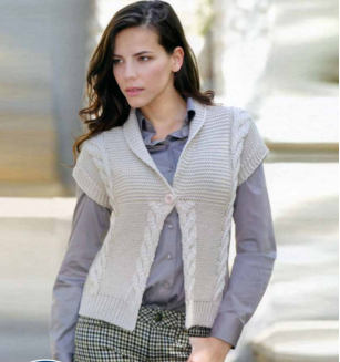 Super Soft Cabled Cardi