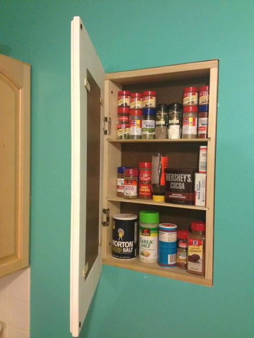 Secret Storage DIY Cabinet
