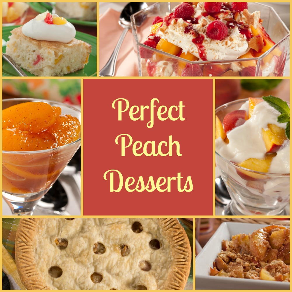 8 Perfect Peach Desserts For Diabetics