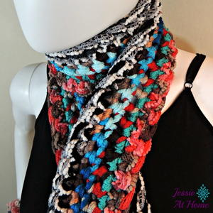 Crochet Scarf Patterns Using Q Hook : Patterns by Crochet Hook Sizes AllFreeCrochet.com