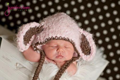 Little Lamb Crochet Hat Pattern  0a46bc5f68e