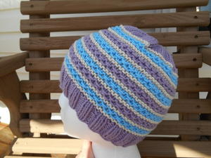 Springtime Stripes Hat